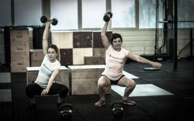 Les femmes dans le CrossFit